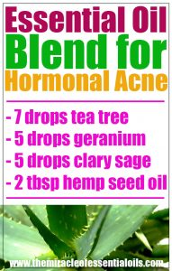 DIY Essential Oil Blend for Hormonal Acne