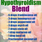 Healing Essential Oil Blend for Hypothyroidism