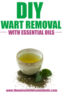 DIY Wart Remover with Essential Oils and Apple Cider Vinegar