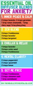 Top 5 Essential Oil Diffuser Blends for Anxiety