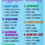 My Top 7 Essential Oil Diffuser Blends for Clean Air