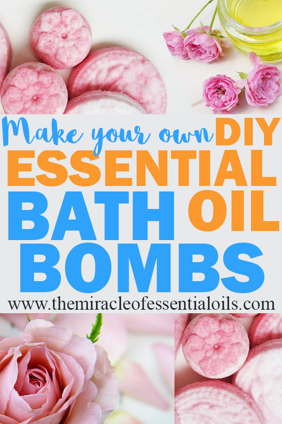 diy essential oil bath bomb recipe