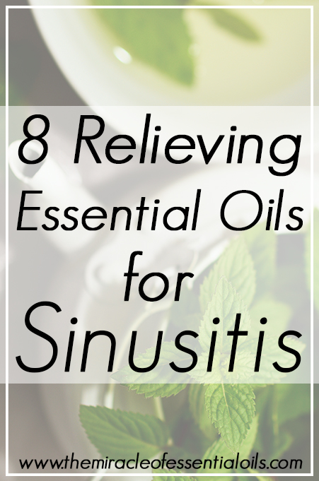 essential oils for sinusitis
