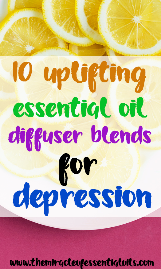 essential oil recipes for depression