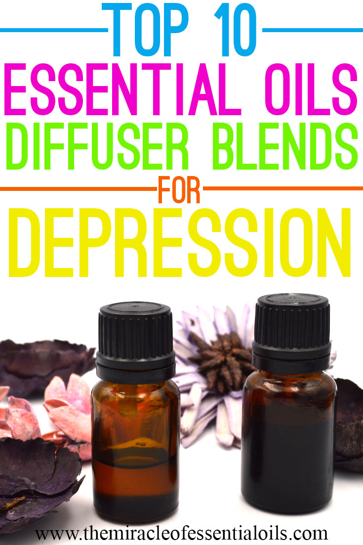 10 Essential Oil Diffuser Blends for Depression Management