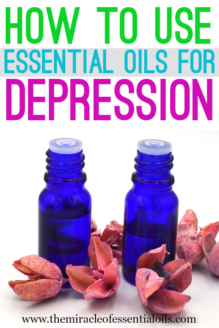 essential oils for depression usage