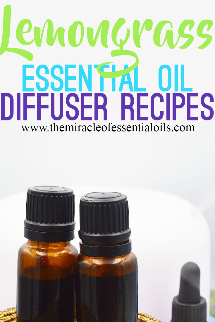 lemongrass essential oil diffuser blends and recipes