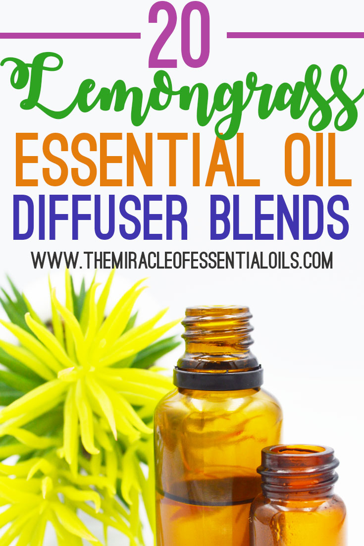 20 Best Lemongrass Essential Oil Diffuser Blends To Try Right Now